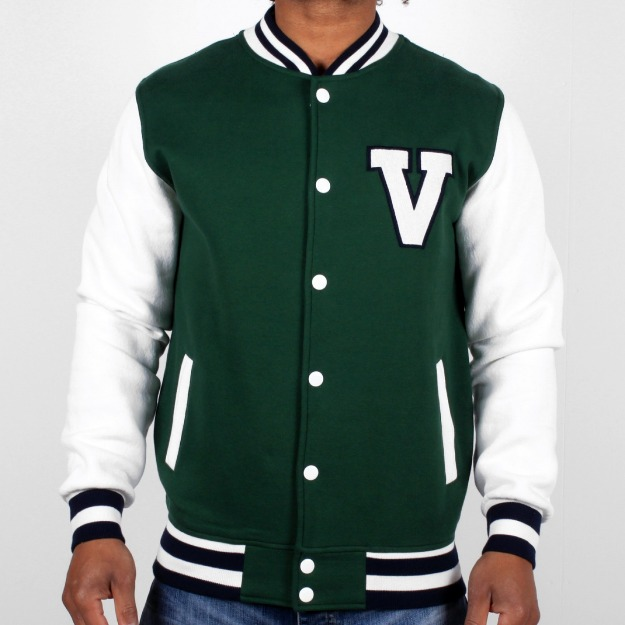 01 new cotton custom design baseball varsity jacket for man