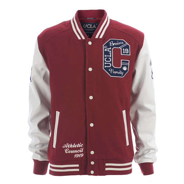 02 new cotton custom design baseball varsity jacket for man
